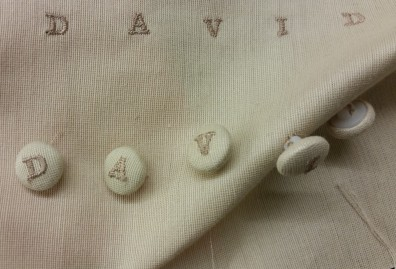 soho embroidery Personalized Buttons
