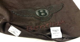soho embroidery BENTLEY home, personalized pillow