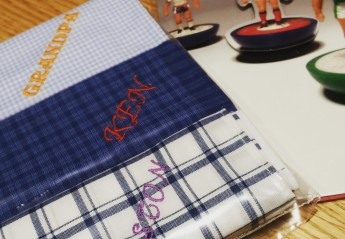 soho embroidery Personalized Hankies