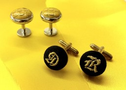 soho embroidery Embroidered cufflinks
