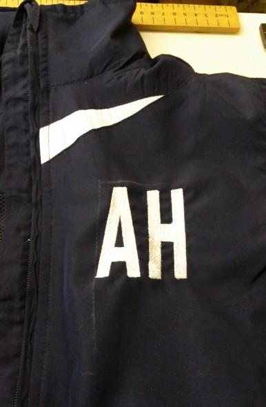 soho embroidery TV advert jacket personalization