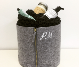 soho embroidery H&M HOME Monogrammed Gifts