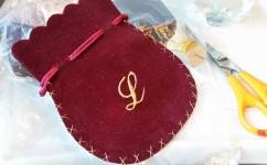 soho embroidery Monogrammed Giftbags