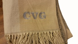 Soho Embroidery Personalized Scarf